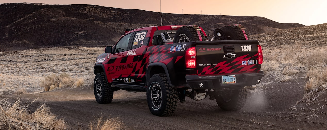 Colorado Performance Truck: Rear View