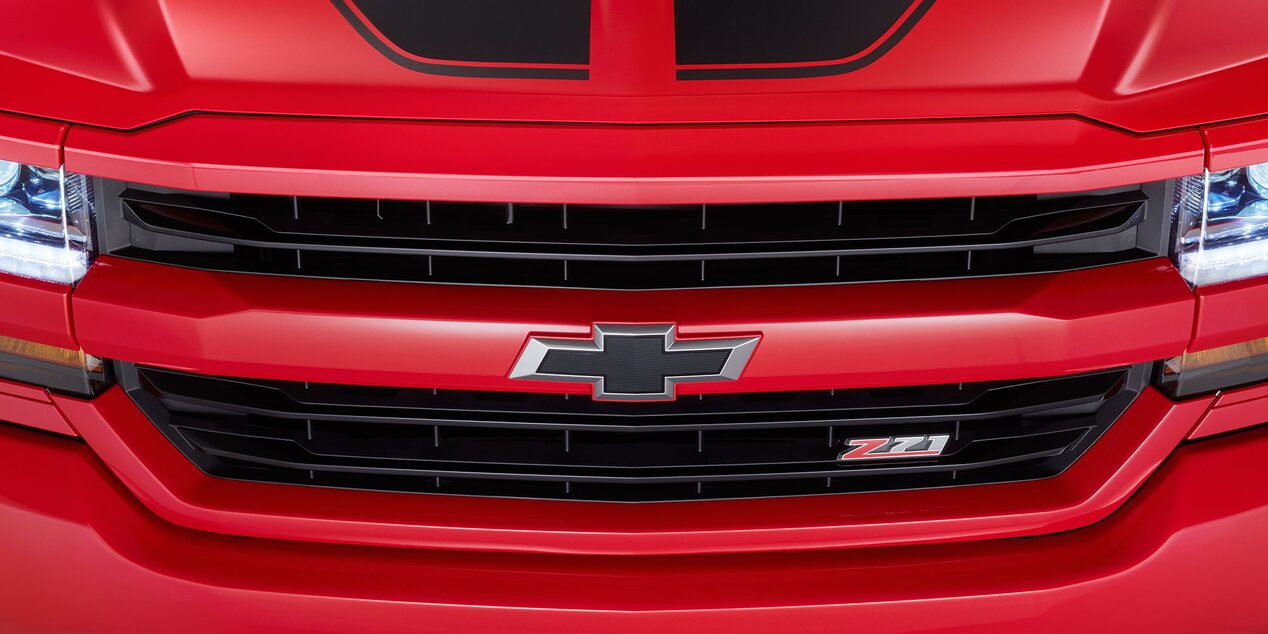 2017 Silverado 1500 Accessories: front grille badge