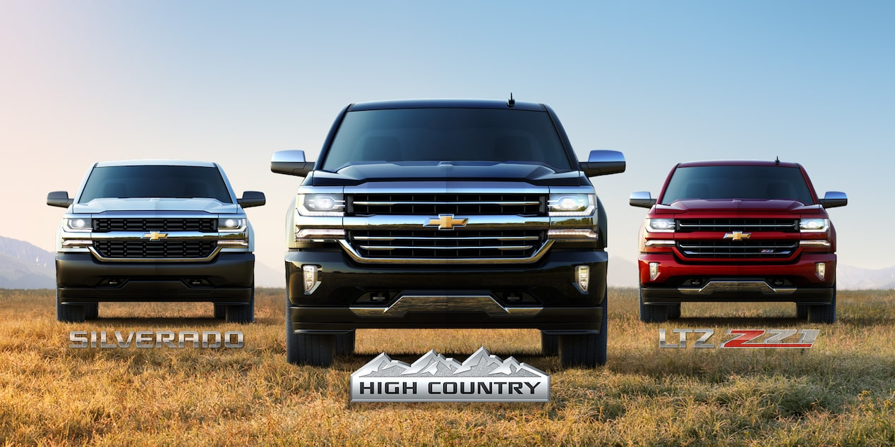 2017 Silverado 1500 High Country Truck