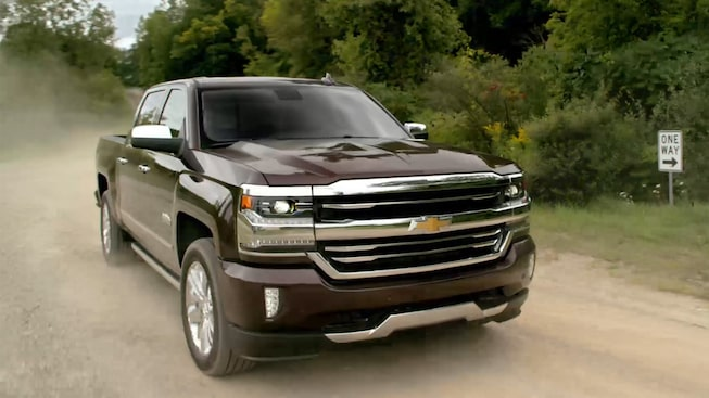 Chevy Pickup Trucks: 2017 Silverado 1500