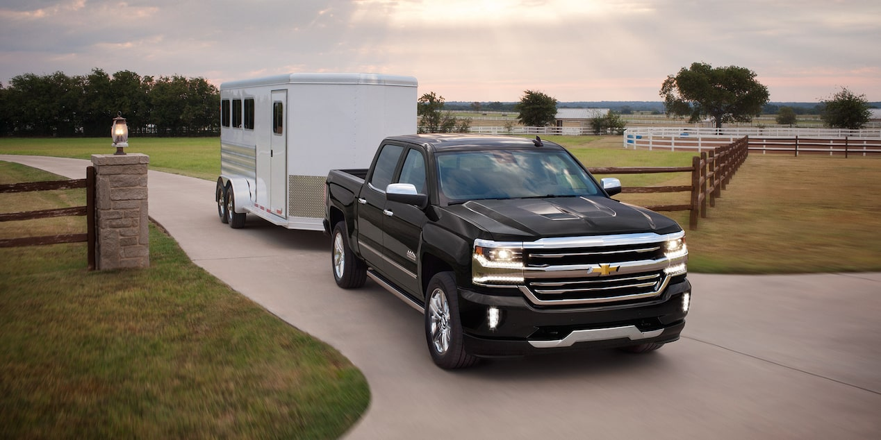 2017 Silverado 1500 Towing Trailering