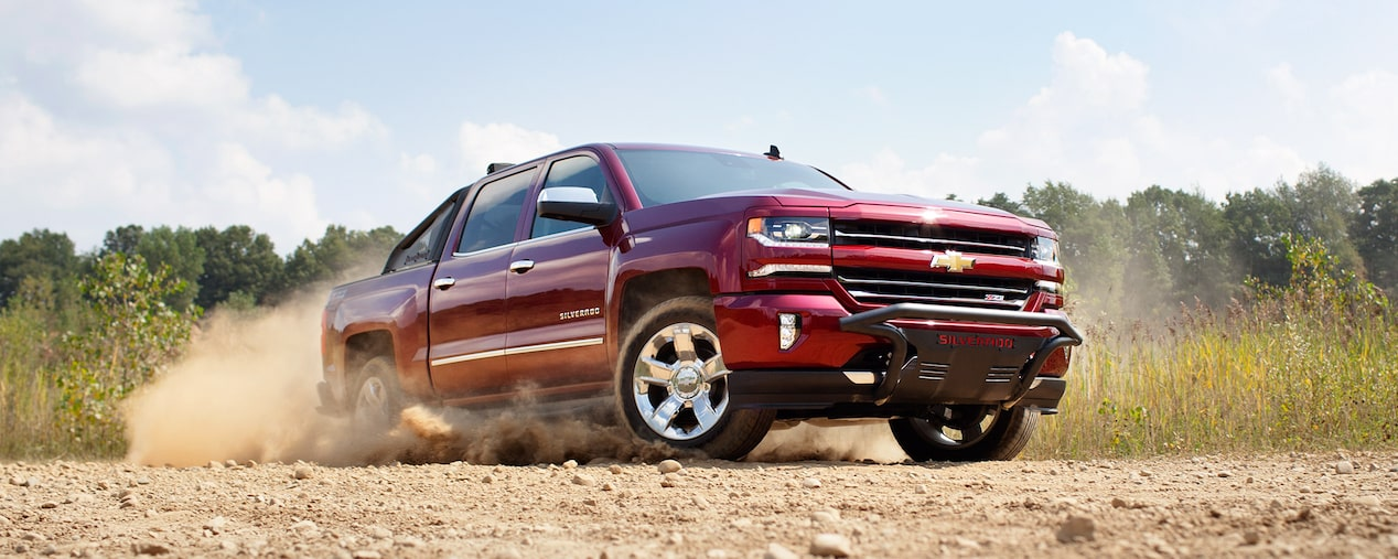 2017 Silverado 1500 Pickup Truck Performance: Z71 Off-Road Package