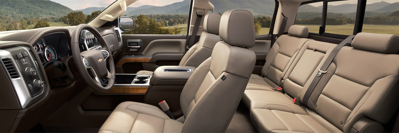 2017 Silverado 2500HD Truck Design: interior
