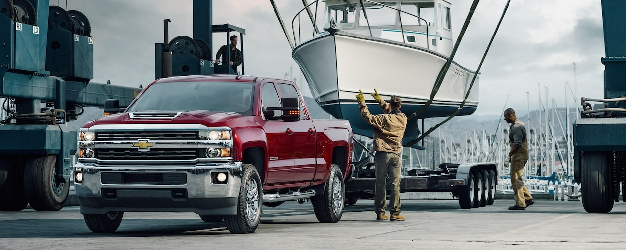 2017 Silverado 2500HD Truck Performance: advanced towing