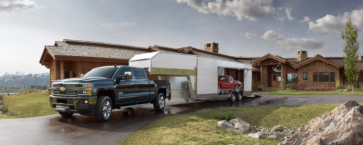 2017 Silverado 2500HD Truck Performance: towing