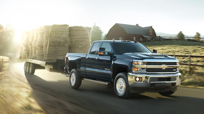 2017 Silverado 2500HD Truck Performance: trailer sway control