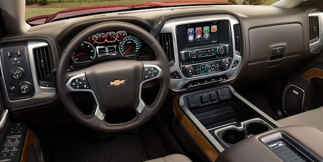 2017 Silverado 2500HD Truck Interior Photo: dashboard