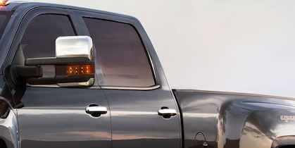 2017 Silverado 3500HD Truck Design: forward-hinged rear doors