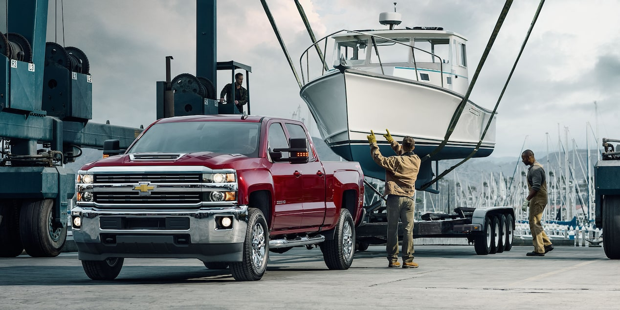 2017 Silverado 3500HD Truck Performance: towing