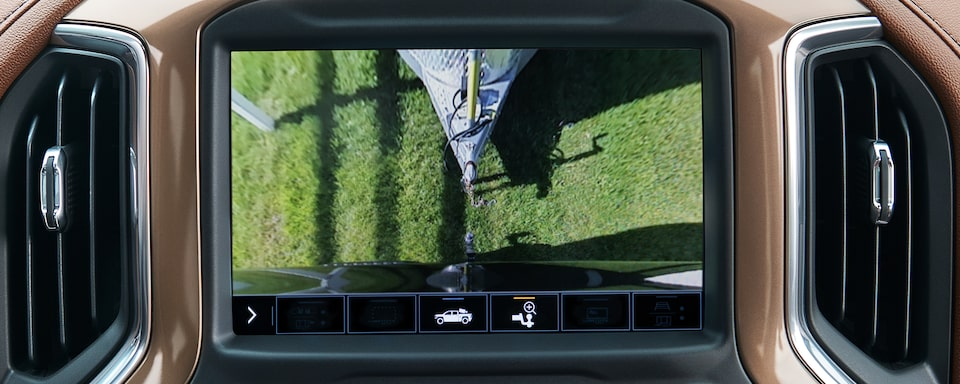 Silverado Family: Hitch Camera View