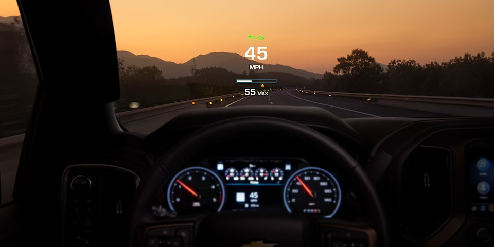 Silverado Family: Head-Up Display