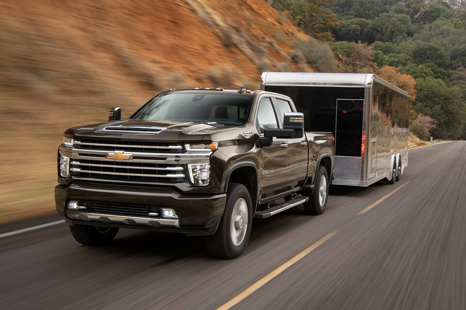 Silverado Family: Towing and Trailering
