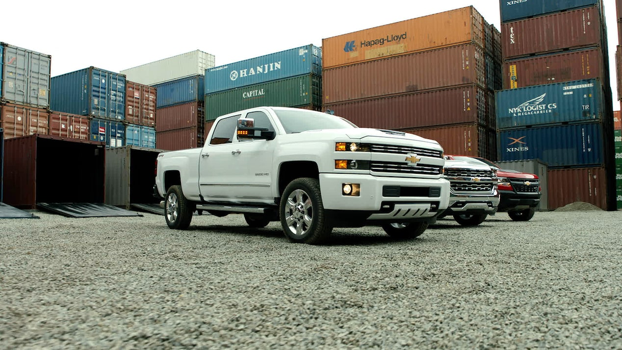 Silverado Films: Chevy containers