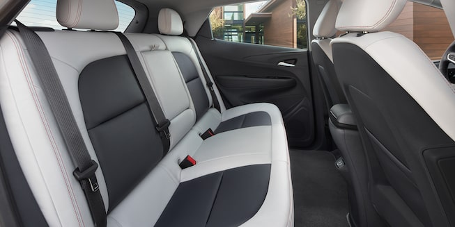 2018 Bolt EV All-Electric Vehicle Interior Photo: backseat