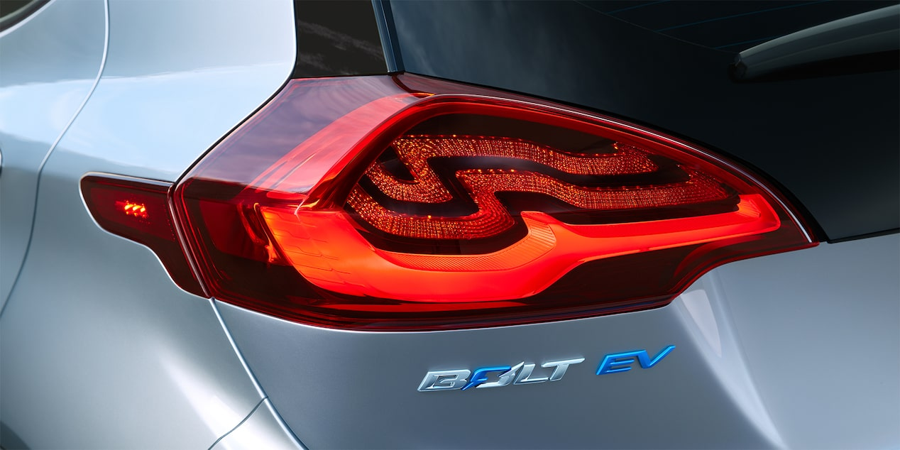 2018 Bolt EV Electric Car Design: Taillamp & Badging