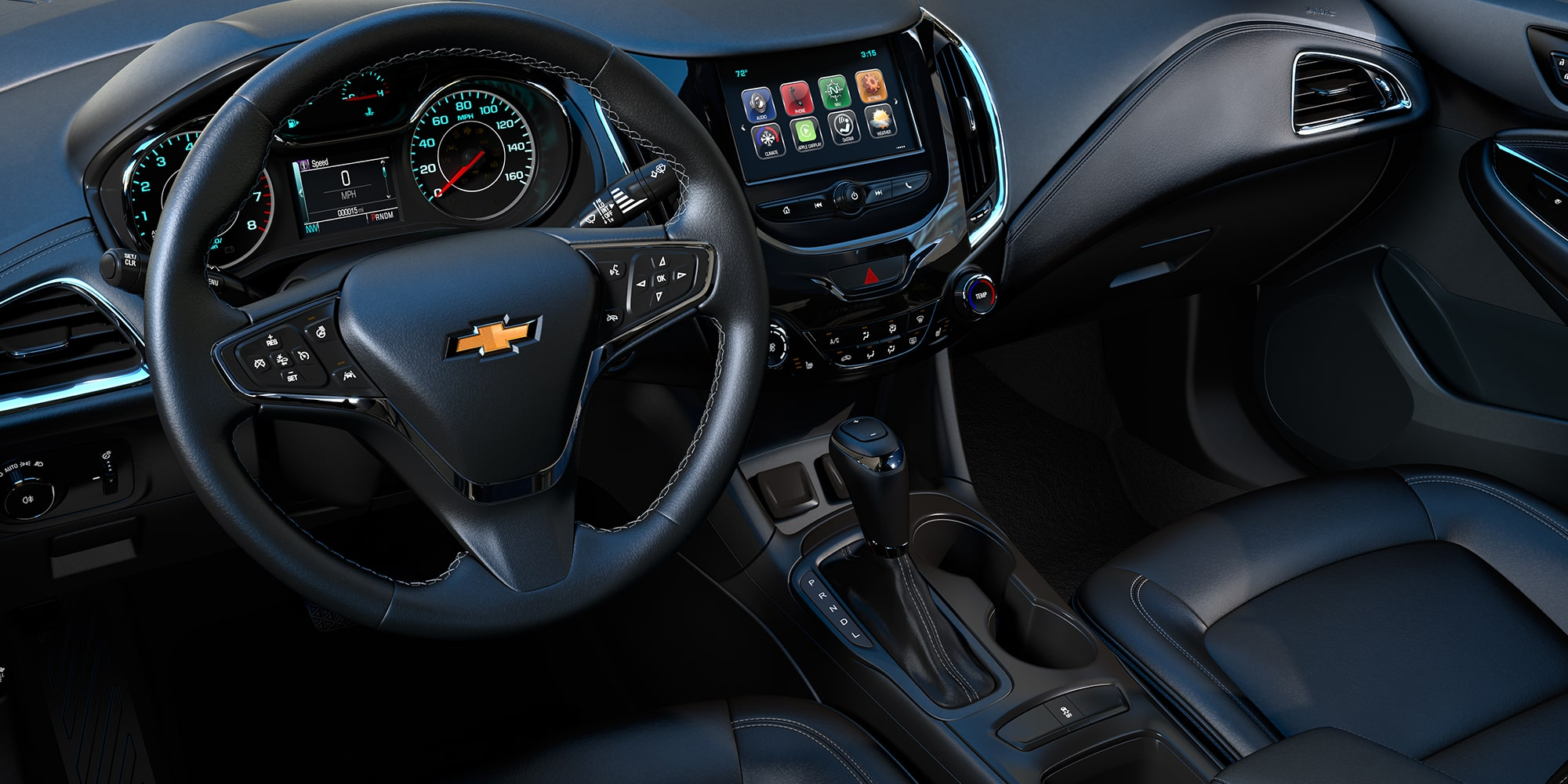 2018 Cruze Compact Car Interior: Cockpit