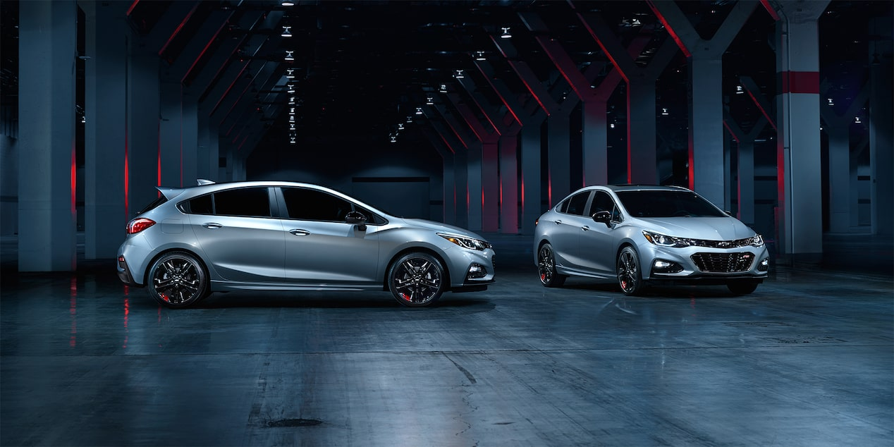 Chevrolet Redline Series: Cruze Sedan & Hatch
