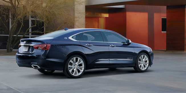 2018 Impala Exterior Photo: profile