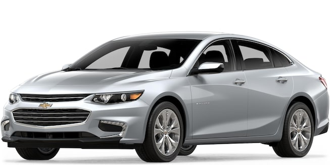 2018 Chevrolet Malibu Mid Size Car: Front View