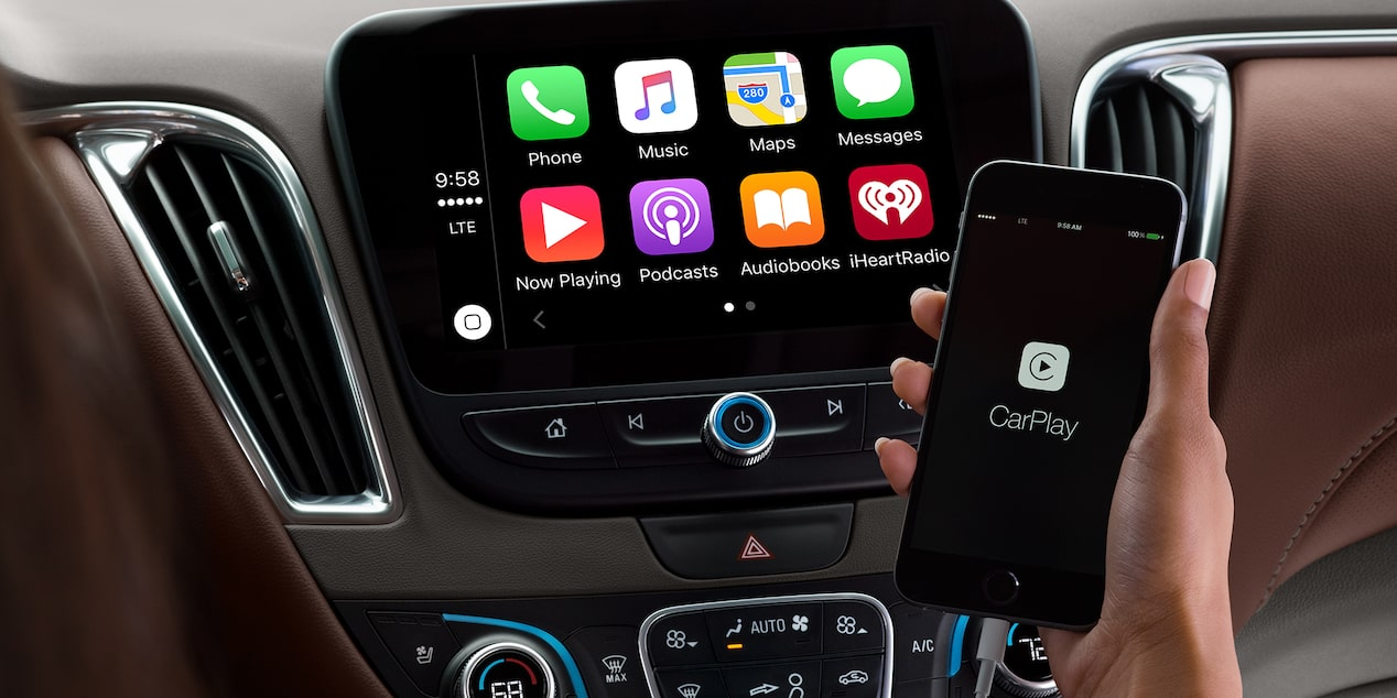2018 Chevrolet Malibu Mid Size Car Technology Le Carplay