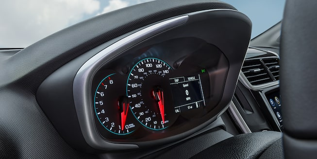 Chevrolet 2018 Sonic Compact Car Interior Photo: instrument cluster