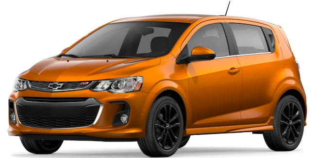 Chevrolet 2018 Sonic Compact Car front view