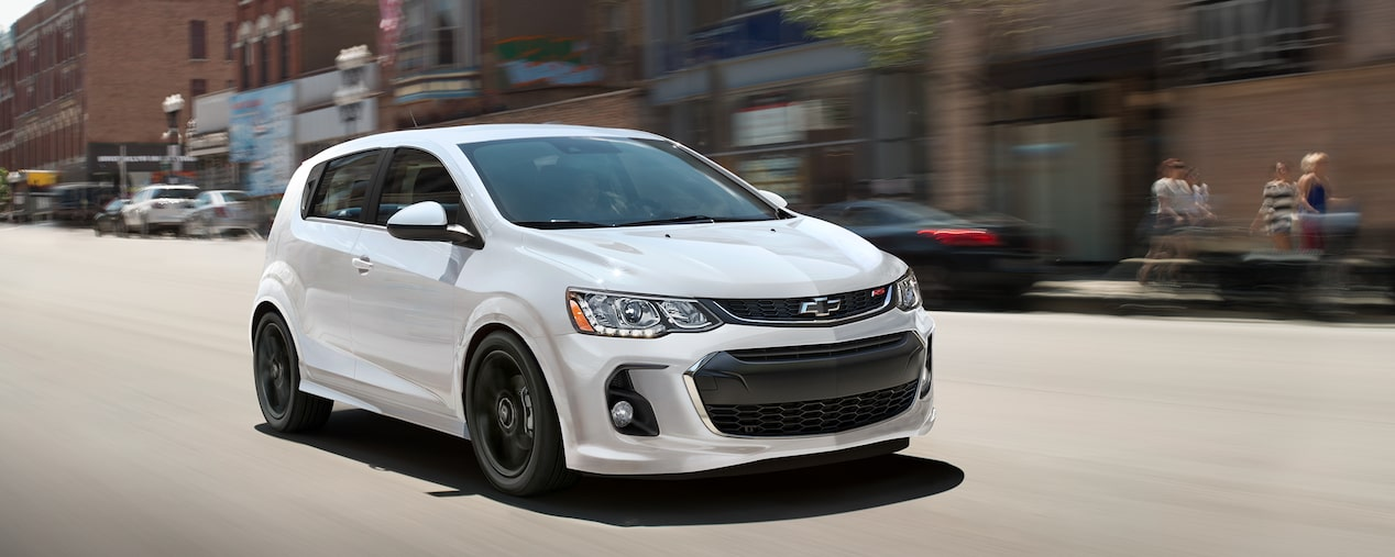 Chevrolet 2018 Sonic Compact Car