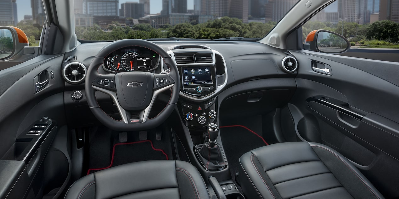 Chevrolet 2018 Sonic Compact Car Design: interior