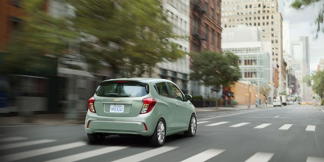 Chevrolet 2018 Spark City Car Exterior Photo: rear view