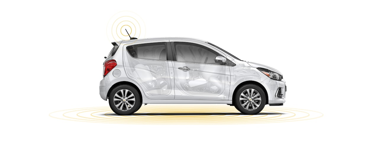 Chevrolet 2018 Spark City Car: Safety Illustration
