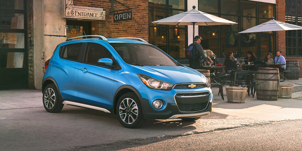 Chevrolet 2018 Spark City Car ACTIV: front side profile