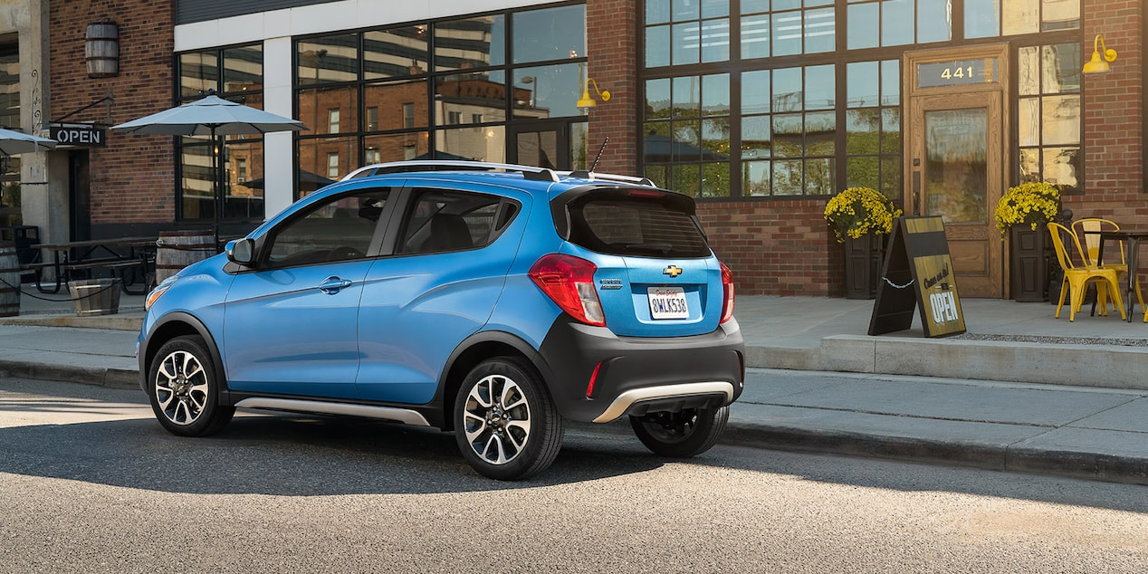 Chevrolet 2018 Spark City Car Activ Rear Side Profile
