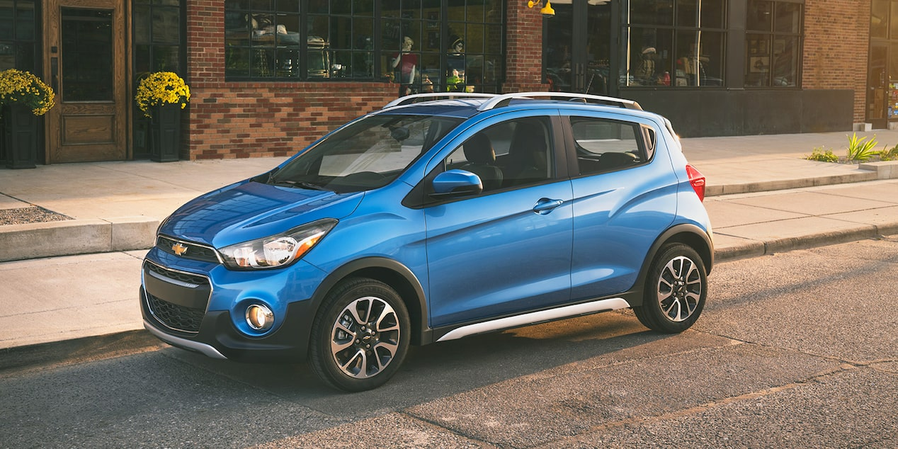 Chevrolet 2018 Spark City Car Activ Front Side Profile 2