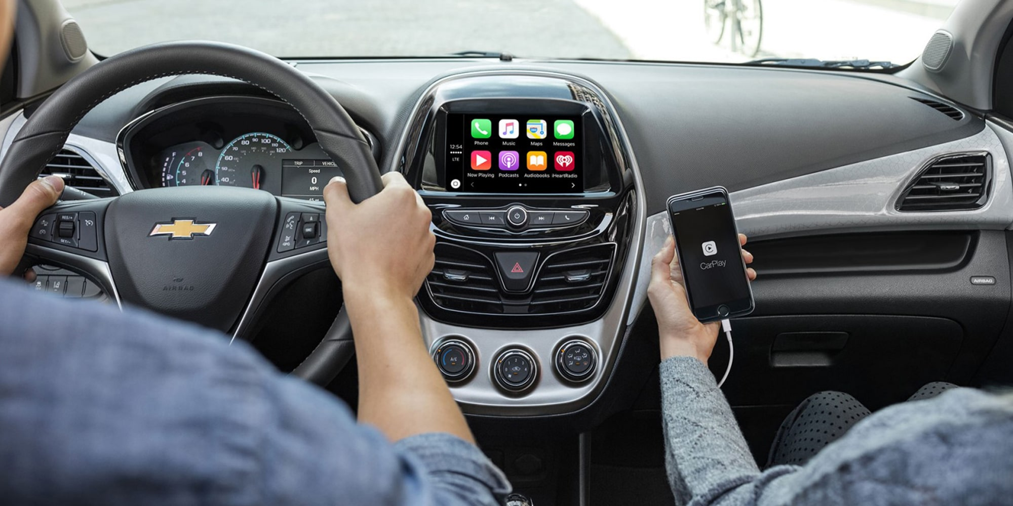 Chevrolet 2018 Spark City Car Technology: Apple Carplay