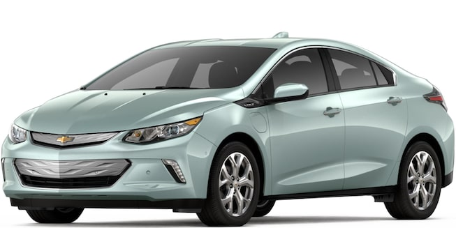 2018 Volt Plug-In Hybrid: Front View