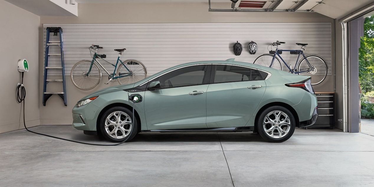 2018 Volt Plug-In Hybrid Charging: at-home charging