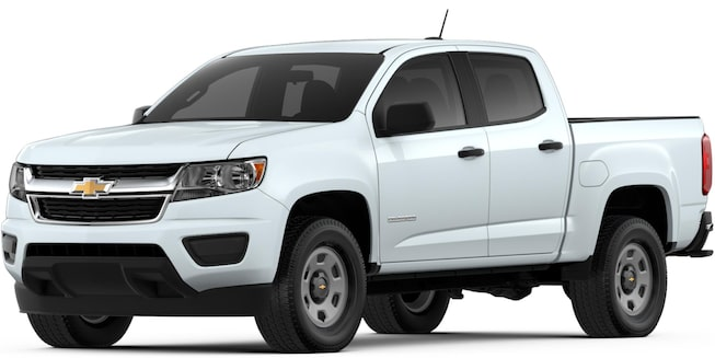 2018 Colorado Commercial Work Truck Front View