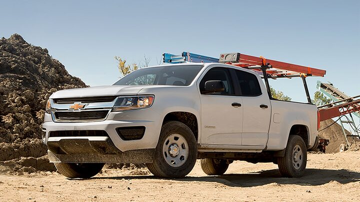 2018 Colorado Commercial Work Truck Specifications Utility Rack