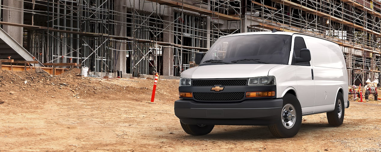 2019 Chevy Express Cargo Van Work Van
