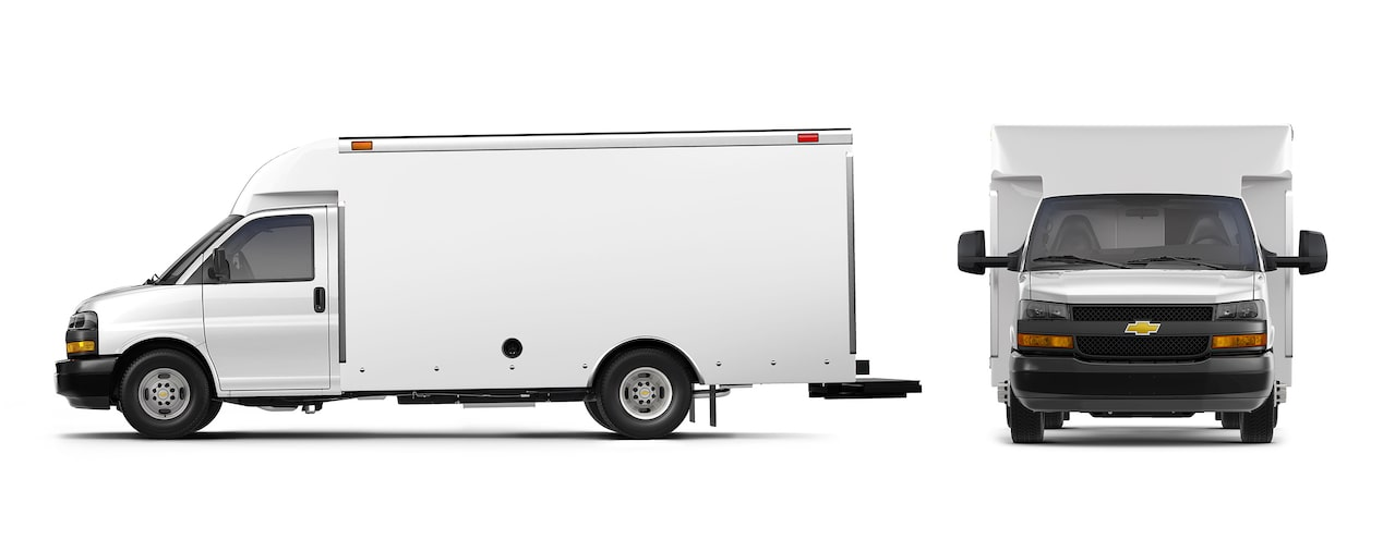 2018 Express Cutaway Van: Box Truck | Chevrolet