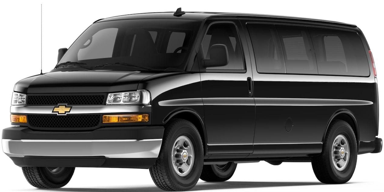 15 Passenger Vans For Sale >> 2018 Express Passenger Van: 15 Passenger Van | Chevrolet