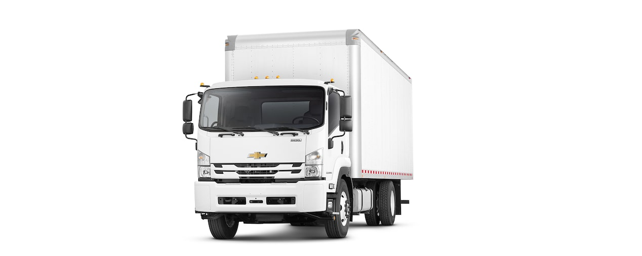 2018 Low Cab Forward Cab Over Truck Performance: front view