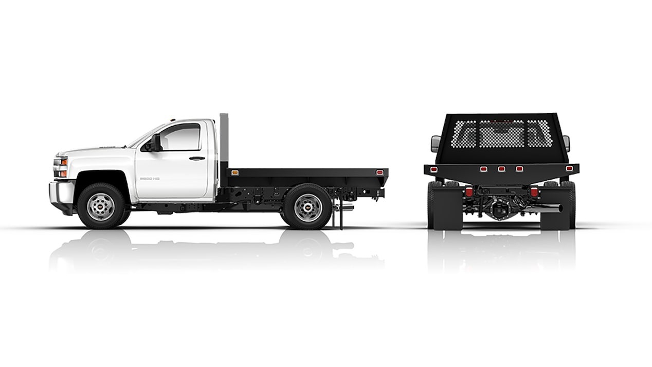 2018 silverado chassis cab truck upfit flatbed