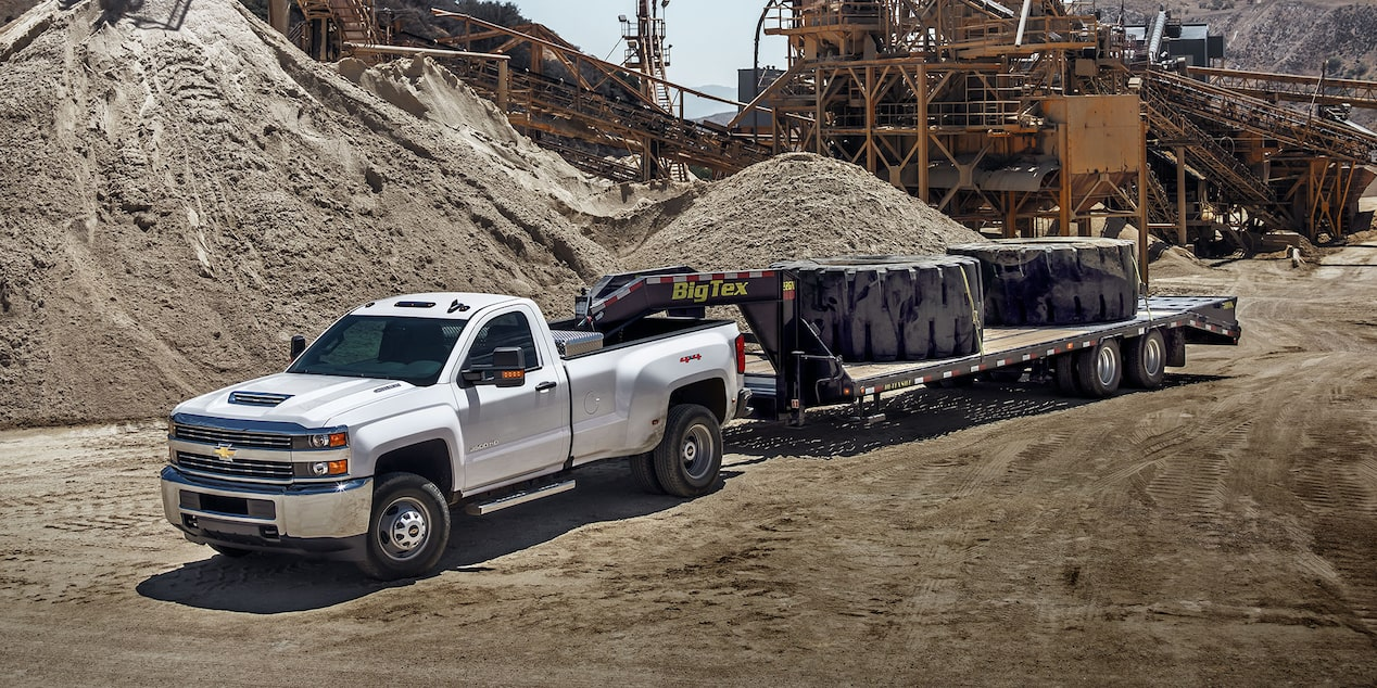 2018 Silverado HD Commercial Work Truck