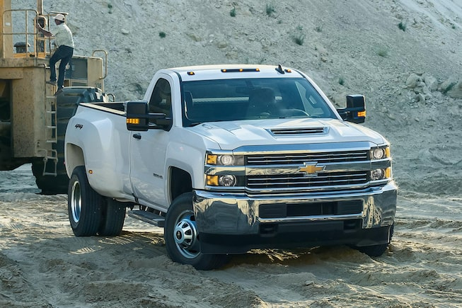 2018 Silverado HD Commercial Work Truck Performance: Duramax engine
