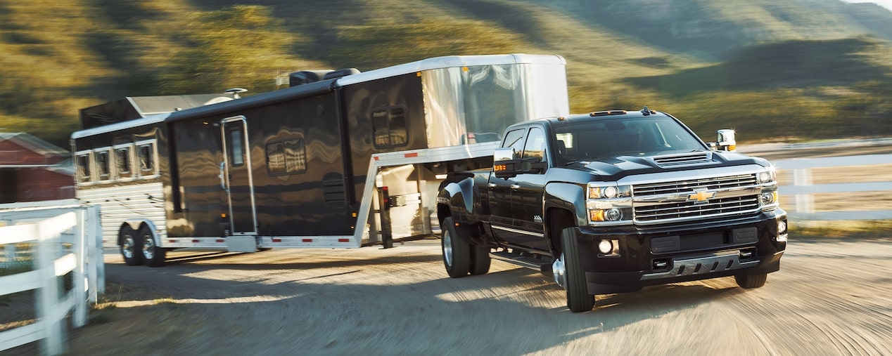2018 Silverado HD Commercial Work Truck Performance: trailer sway control