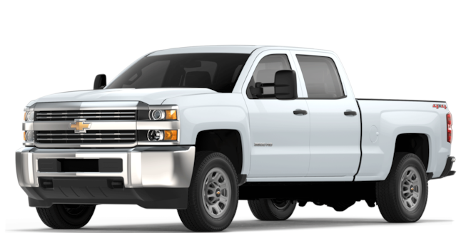 2018 Silverado HD Commercial Work Truck: Front View