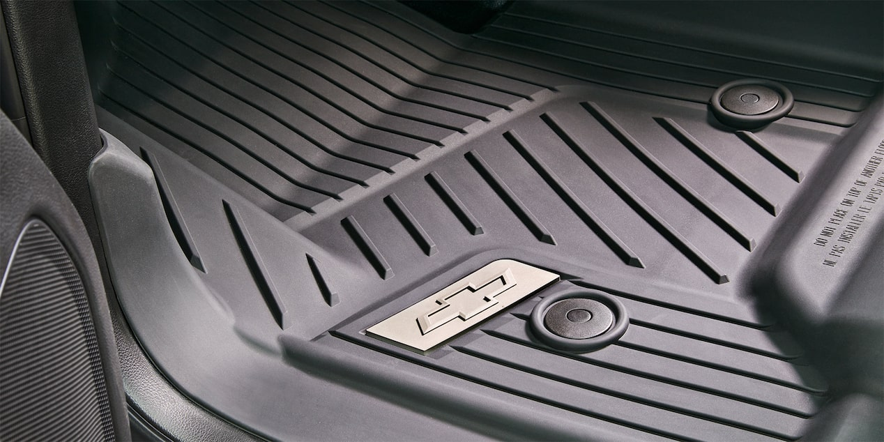 2018 Silverado 1500 Commercial Work Truck Accessories: premium all-weather floor liners