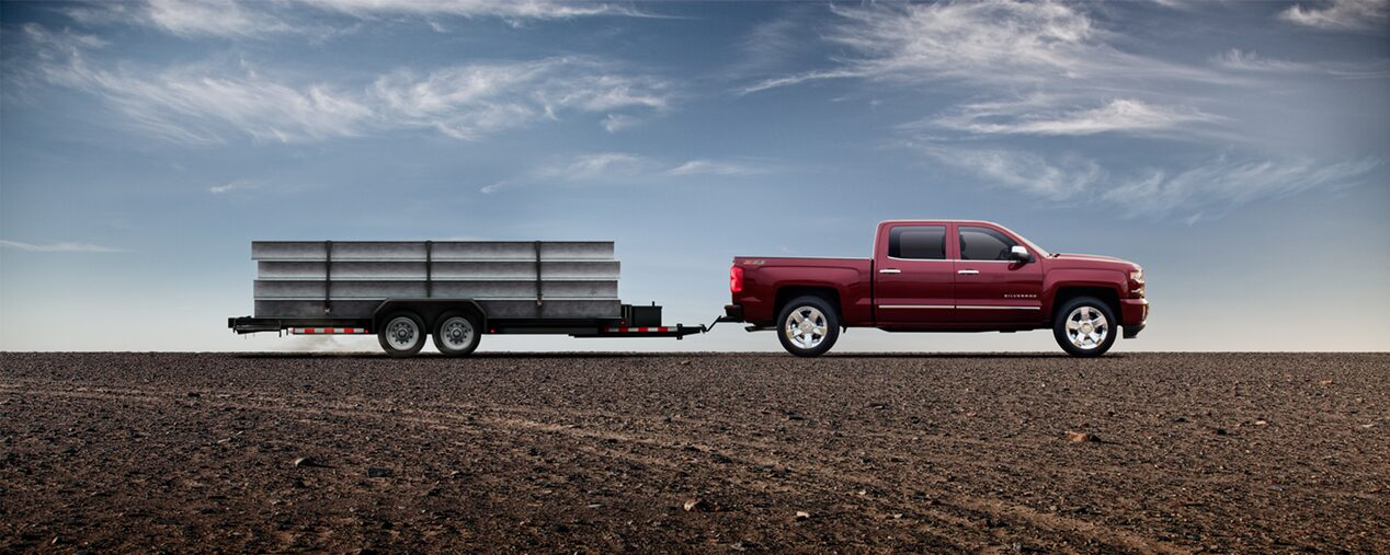 2018 Silverado 1500 Commercial Work Truck Performance: towing