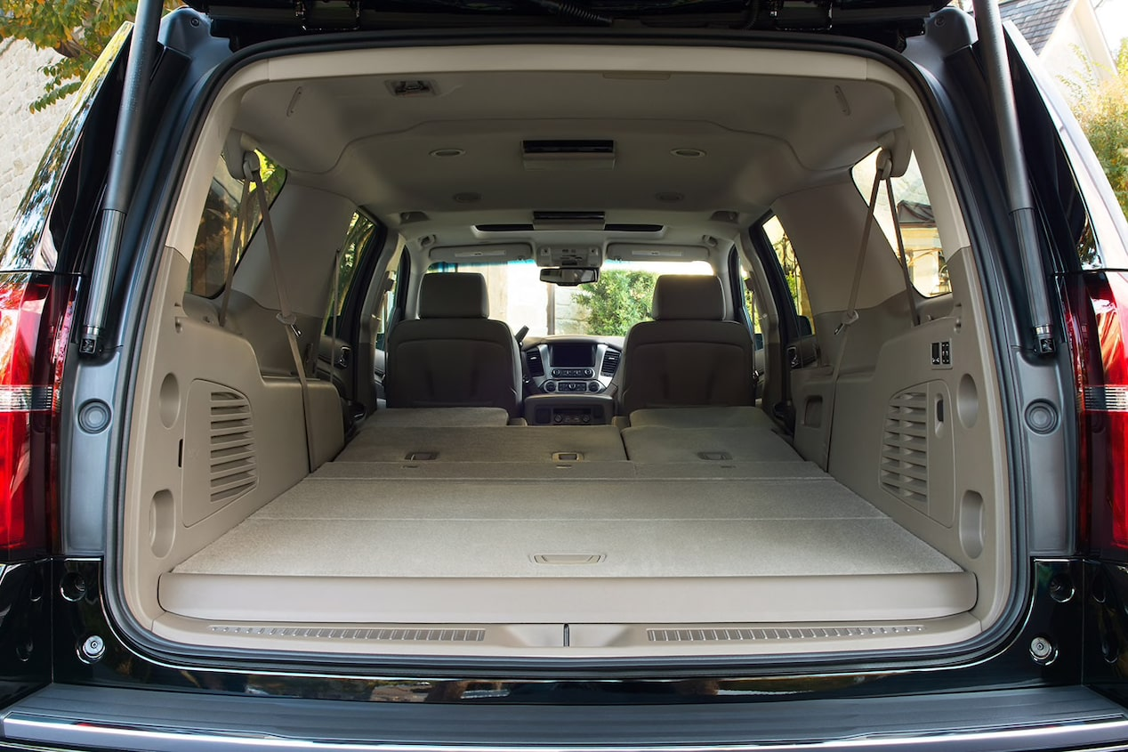 2018 suburban suv interior photo cargo space